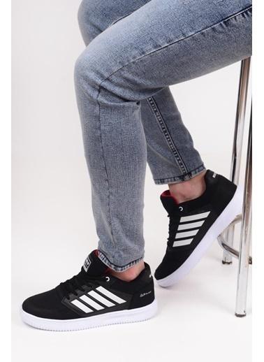 Bestof 074 Unisex Günlük Sneaker Spor Ayakkabı Siyah